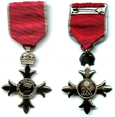 Mbe_medal_front_and_reverse