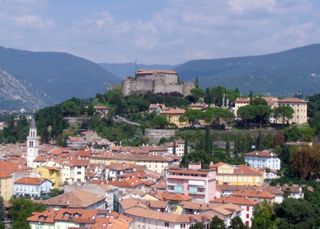 Castello_di_Gorizia_-_Vista_SUD_OVEST